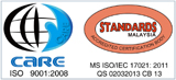 MS ISO 9001:2008 Certified Building Surveying Company Malaysia